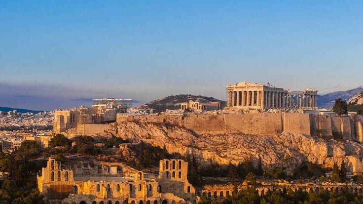 Foto: El Partenón griego durante el amanecer. (iStock)