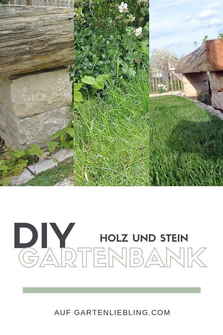 Park Bench Build – Naturstein und Eiche pur