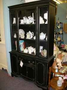 China Cabinet Black CabinetsRefurbished FurnitureWeekend Projects HutchBuffetsUpcycleDining Room