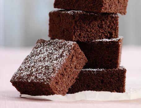 Fedtfattig chokoladekage