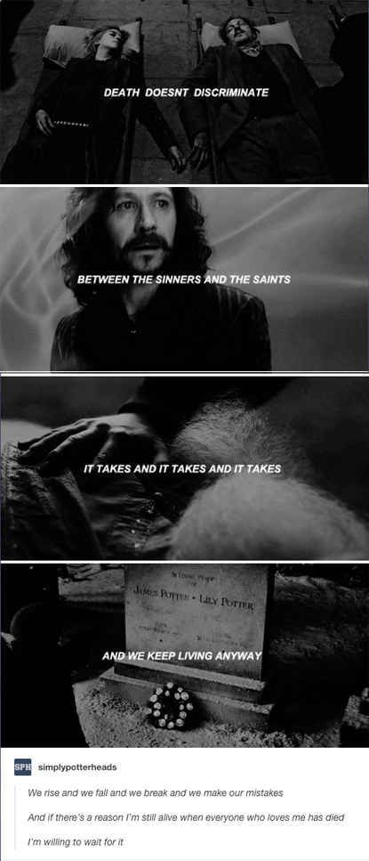 This post that reminds us of everything the marauders lost.
