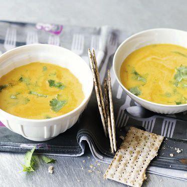 Ananas-Kürbis-Cremesuppe Rezept   Küchengötter