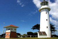 Tiritiri Mantangi Island lighthouse