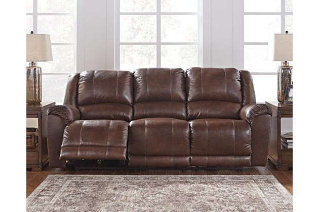 Superb Persiphone Reclining Sofa By Ashley Homestore Leather Interior Design Ideas Inamawefileorg