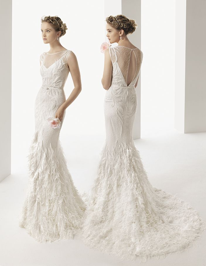 Soft by Rosa Clará Wedding Dresses 2014. To see more: http://www.modwedding.com/2014/05/12/rosa-clara-wedding-dresses-2014-collection/ #wedding #weddings #fashion