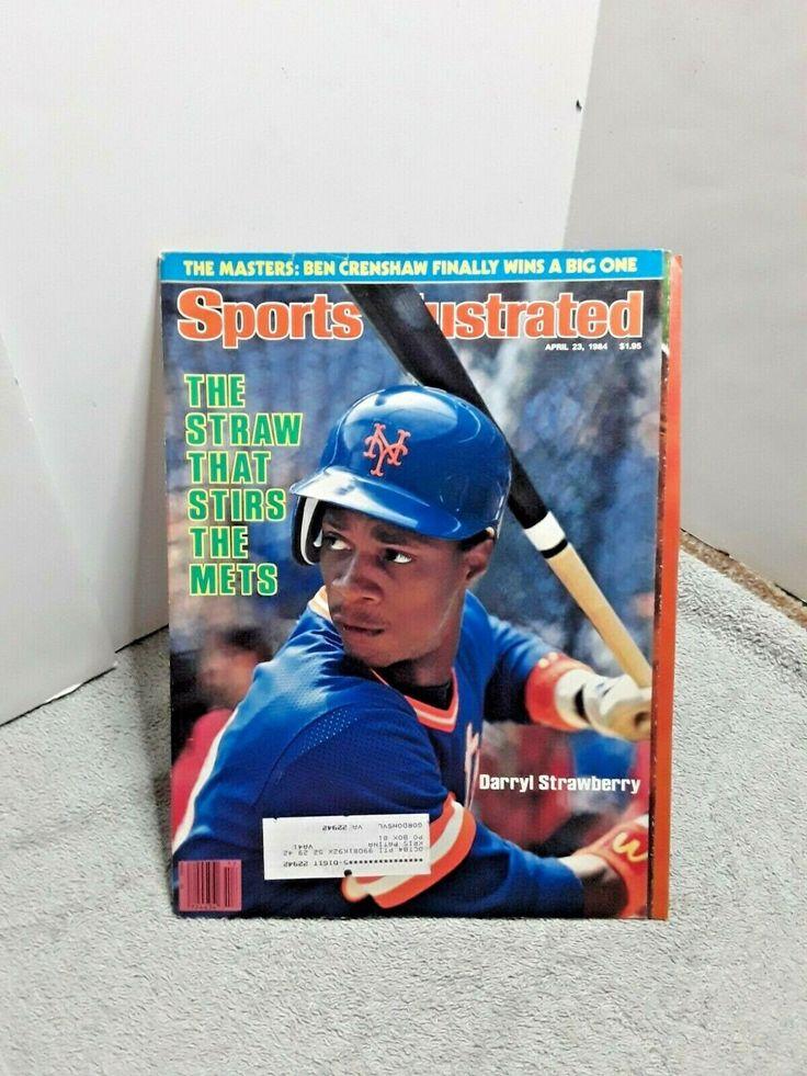 Sports Illustrated April 23 1984 Darryl Strawberry New