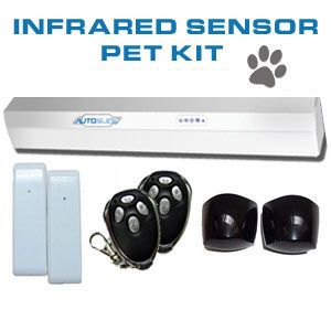 Buy your pet the ultimate Christmas Gift this year. No need for a cat flap or doggy door! This DIY Automatic Sliding Door Kit can transform your sliding door into an automatic one. #petchristmas #lovemydog
