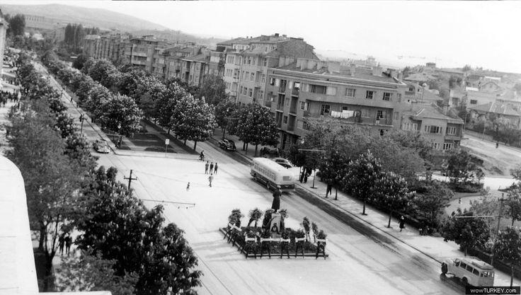 Zafer Meydanı Eski Ankara Fotoğrafı 15,Eski Ankara Fotoğrafı,Eski Ankara Fotoğrafları,Eski