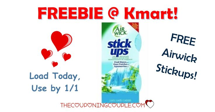 Get your Friday Fix! Get a FREE AirWick StickUps at Kmart with a new digital coupon! Load your coupon now!  Click the link below to get all of the details ► http://www.thecouponingcouple.com/free-airwick-stick-ups-air-freshener-kmart-with-coupon/ #Coupons #Couponing #CouponCommunity  Visit us at http://www.thecouponingcouple.com for more great posts!