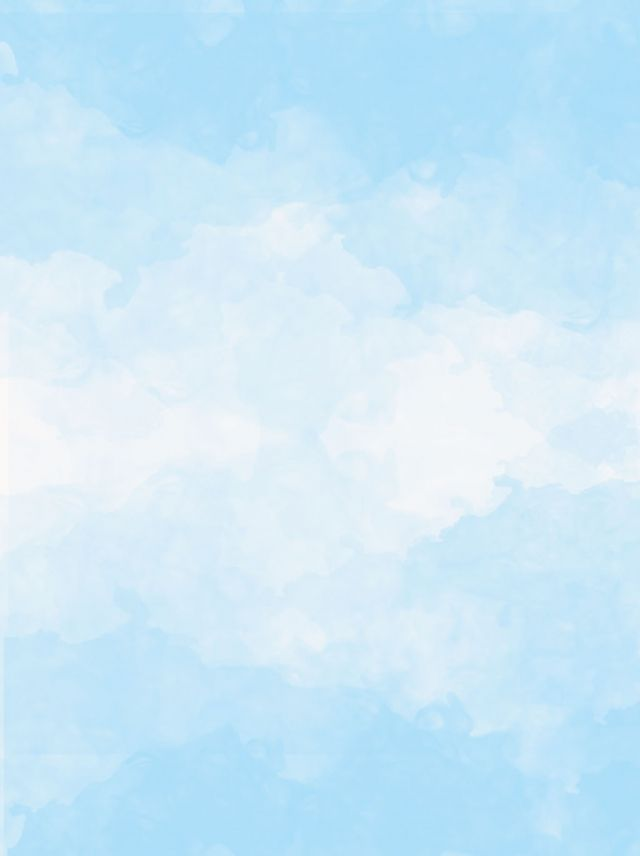 Blue Sky White Clouds Splashes Of Watercolor Background Blue Sky Clouds Blue Sky Images Blue Sky Background
