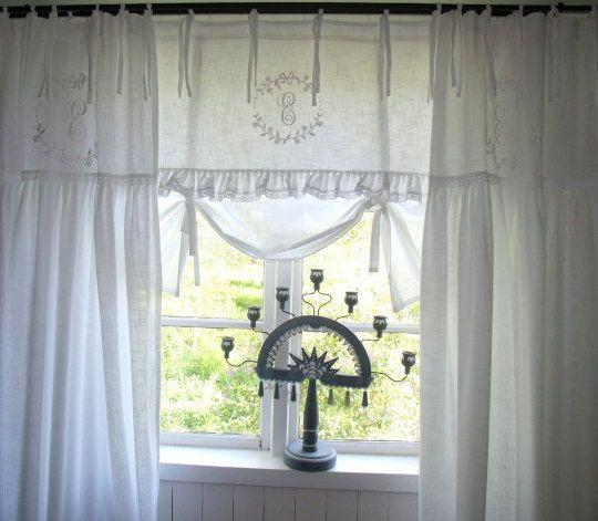59 besten gardinen Bilder auf Pinterest Fenster, Netzgardinen - Gardinen Landhausstil Wohnzimmer