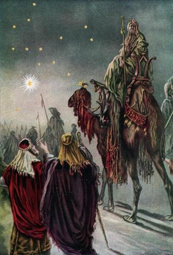 The Star of Bethlehem    Gustave Doré (1832-1883)