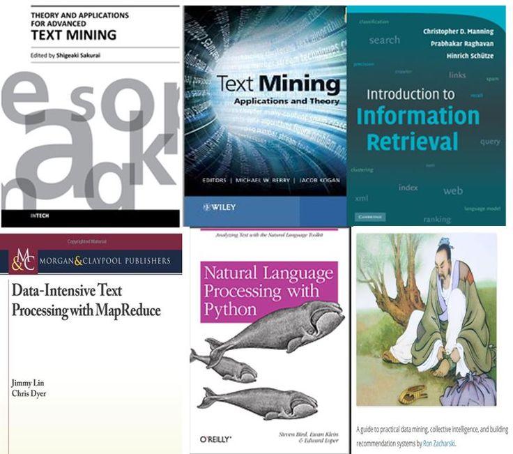 Free Text Mining, Text Analysis, Text Analytics Books - Predictive Analytics Today