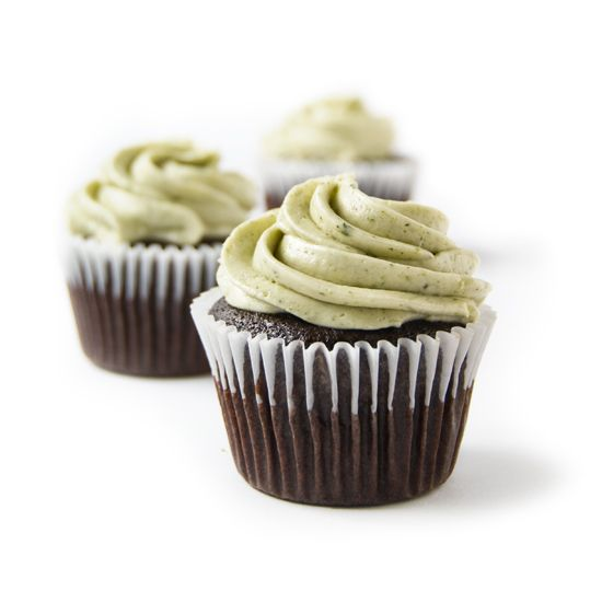 Chocolate Mint Cupcake #vegan