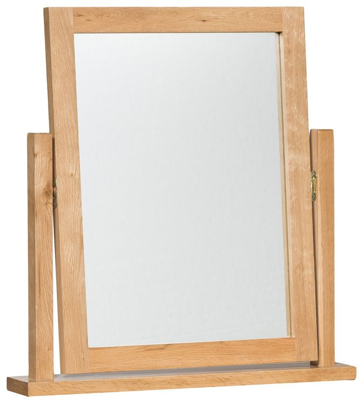 Waverly Oak Dressing Table Mirror - Dressing Table Mirrors - Bedroom | Hallowood…