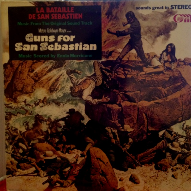 Yes I picked this up based mostly on the sleeve. And #Morricone, 'course.