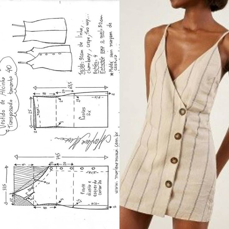 Womens halter neck bralet style cropped top with tie back fastening pdf printabl…