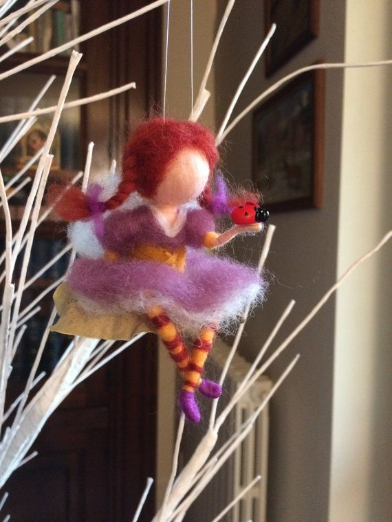 Hey, I found this really awesome Etsy listing at https://www.etsy.com/listing/226181980/needle-felted-fairy-on-leaves-with