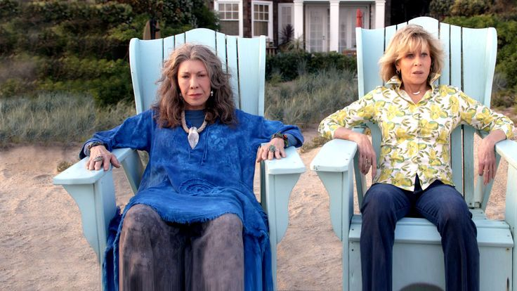 ✔Grace and Frankie (Netflix)