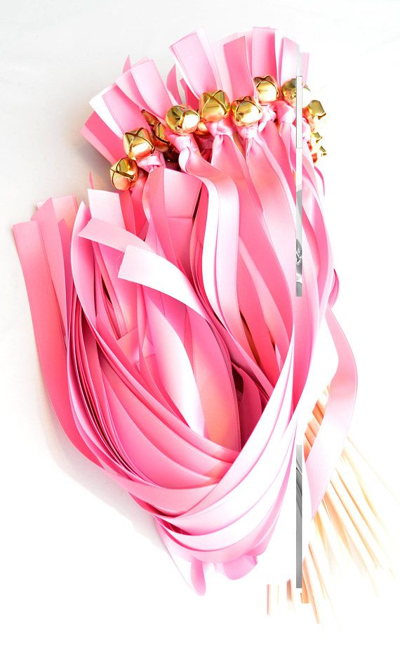#Wedding Ribbon Bell Wands   ~*~*~  FRAMED SET , meaning 2 different size Ribbons. Please make sure you note the color / size for each one in buyer's notes ***  Updated for ... #weddingwands #ribbonwands #ceremonysendoff #kissingbells #weddingceremony #weddingfavors #favors #ribbonbellwands #bellwands #bridal #sherbet