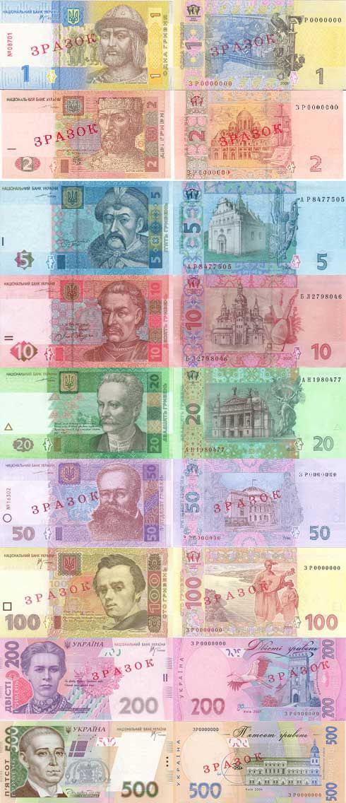 The hryvnia, sometimes hryvnya or grivna (Ukrainian: гривня, pronounced [ˈɦrɪu̯ɲɑ], abbr.: грн (hrn in Latin alphabet)); sign: ₴, code: (UAH), has been the national currency of Ukraine since September 2, 1996. The hryvnia is subdivided into 100 kopiyok. In medieval times, it was a currency of Kievan Rus'.