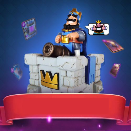 Clash Of Clans Clash Royale King Tower Model Toy Saving Pot Piggy Bank