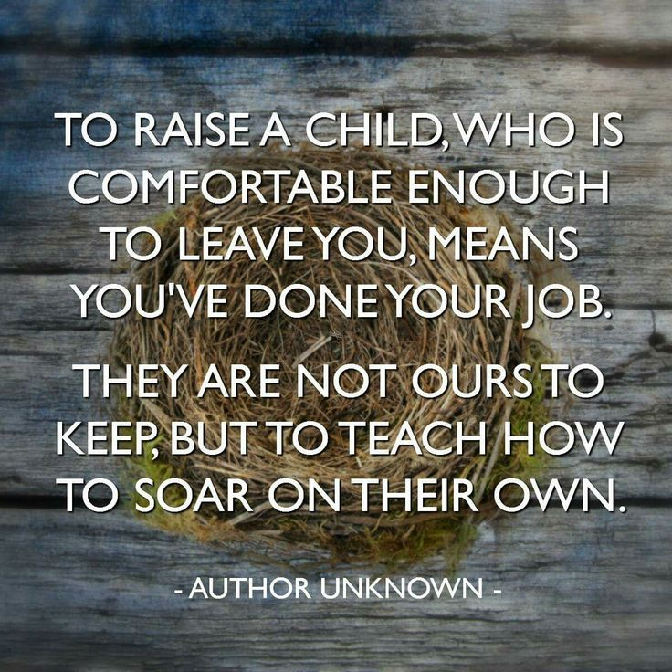 AMEN!!! A Good Parent is one that has taught their kids how to be successfully independent of them while remaining dependent on Jesus.