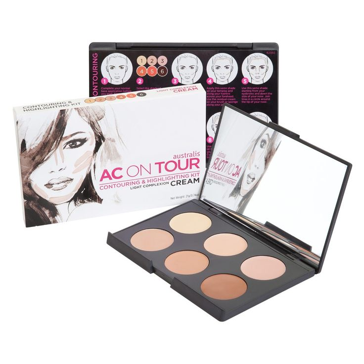 Australis AC On Tour Cream Contouring & Highlighting - normally contour with powdered products and would love to try a cream contour for a change