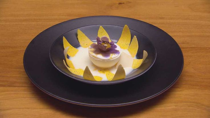 Passion Flower by Darren Purchese for Masterchef Australia 2015