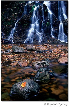 Wentworth Valley Waterfalls (near Truro) - Nova Scotia