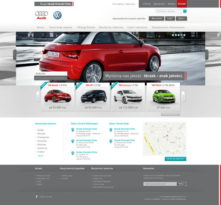 Car dealer layout proposal