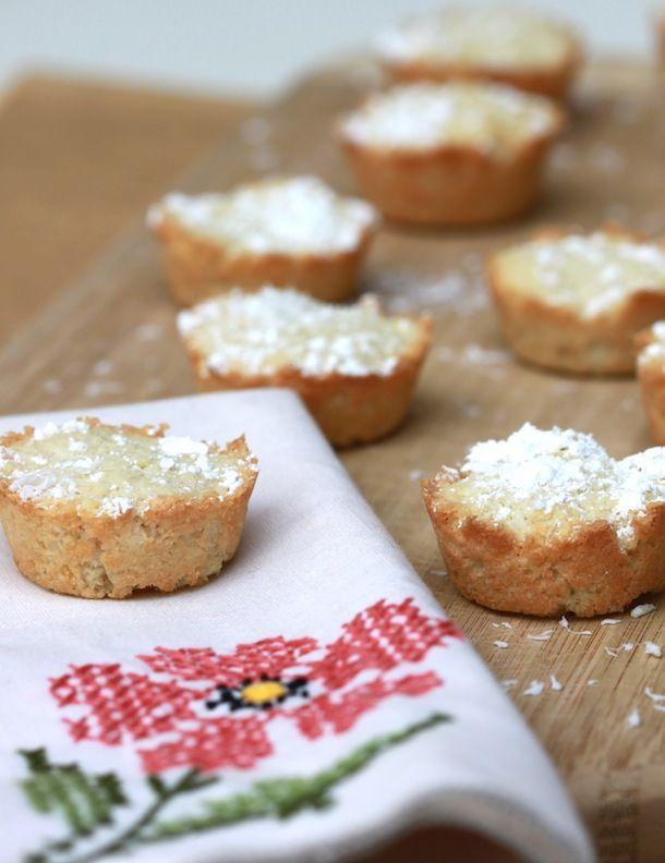 Coconut Tea Cakes: gluten-free, dairy-free, refined sugar-free