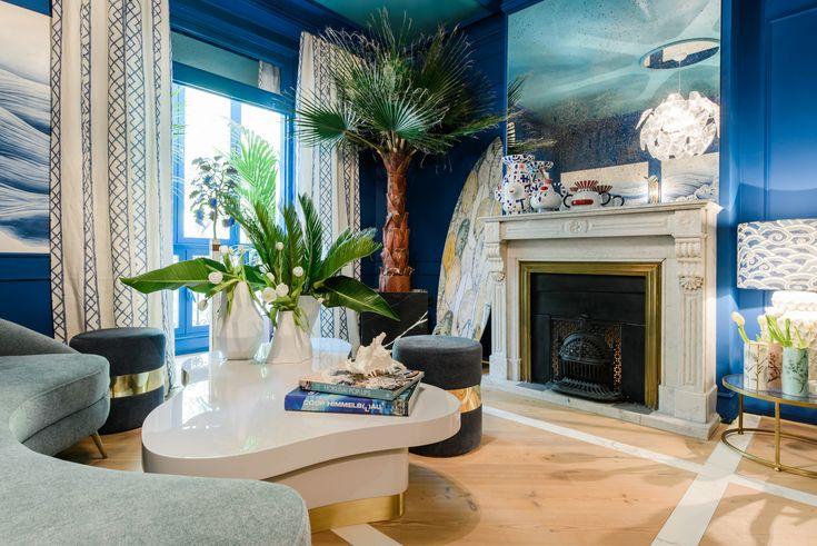 Испанский интерьер с применением лепнины Orac Decor. Дизайн студии Casa Decor 2017