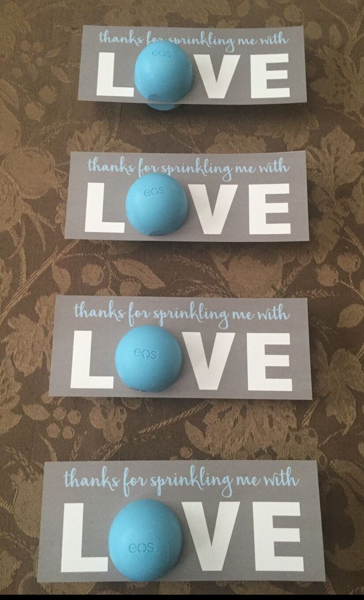 sprinkled with love baby shower favor grey baby blue by on etsy https