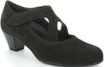 Gabor női bőr magassarkú cipő