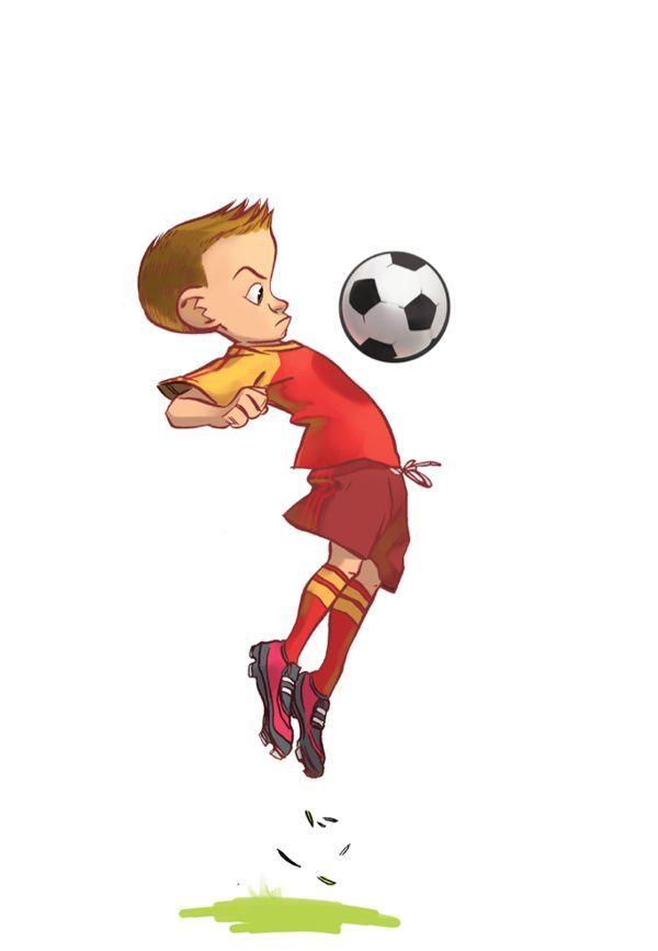 Для открытки, смешные нарисованные картинки про футбол