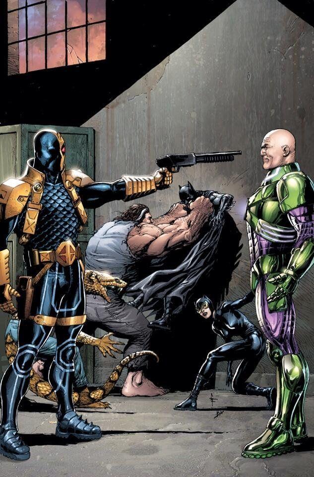 Deathstroke vs Lex Luthor