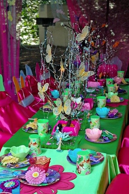 """Photo 22 of 42: Tinkerbell & Fairies / Birthday """"Fairy Extravaganza"""" 