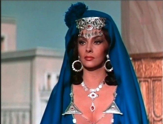 Gina Lollobrigida in Solomon an Sheba, 1959