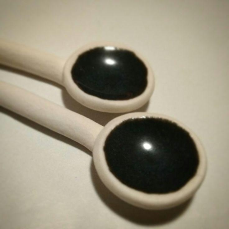 Salt spoons - SM Pottery