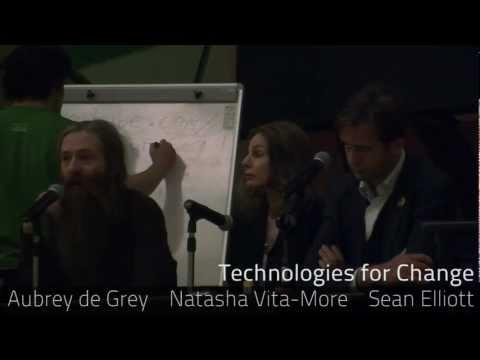 Aubrey de Grey, Natasha Vita-More and Sean Elliott Discuss How to Create Technologies That Will Dramatically Improve the World?