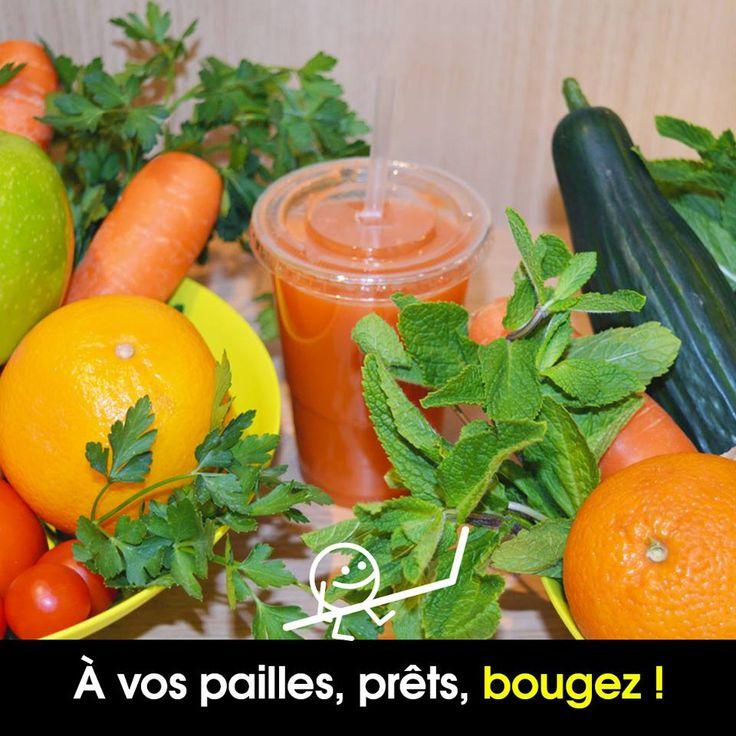 NOUVEAU !!! Notre secret pour être au top dès le matin  ? Un bon jus de fruits et légumes pressés minute  !   4 recettes à découvrir dès aujourd'hui chez Ankka Boetie :     - Tonic : carottes, pommes, ananas, gingembre - Fraicheur : pommes, ananas, concombre, menthe   - Vitaminé : pommes, pamplemousse, orange, persil   - Detox : carottes, concombre, radis noir, curcuma   A consommer sans modération !