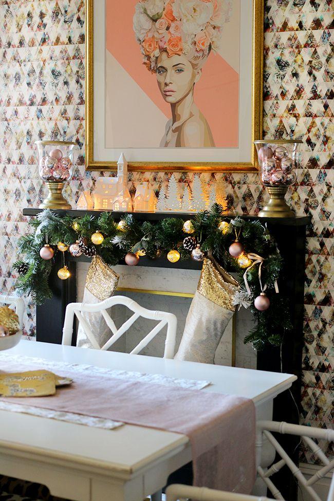 UK Home Blog Hop My Christmas Dining Room RoomsHoliday DecoratingChristmas