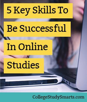 Do you know the most important skills to be successful in online studies? When I started my online graduate degree 10 years ago, I had no idea. I did pretty well at a traditional college for my bachelor's degree and figure going to school online would be pretty much the same story. Turns out, it's not. | Tips for Online Courses, online students, online college tips, online course tips, online classes, study online, college online, online student study tips, online study tips,