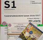 #Ticket  2x VIP Tickets FC Bayern München  RB Leipzig 20.12.2016 Goldseats #deutschland