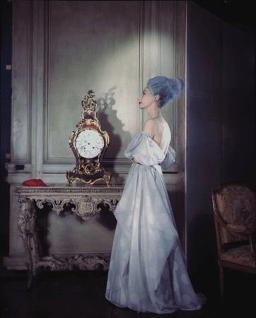 Vogue Daily — Mme Valentina wearing her own design, 1946