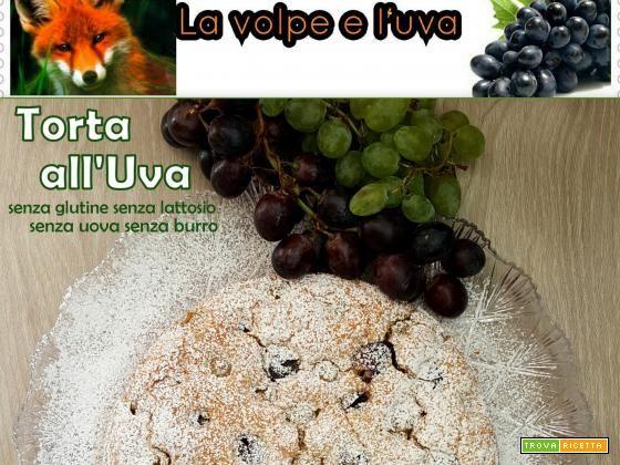 "Torta all'Uva … C'Era una Volta ""LA VOLPE E L'UVA""  #ricette #food #recipes"