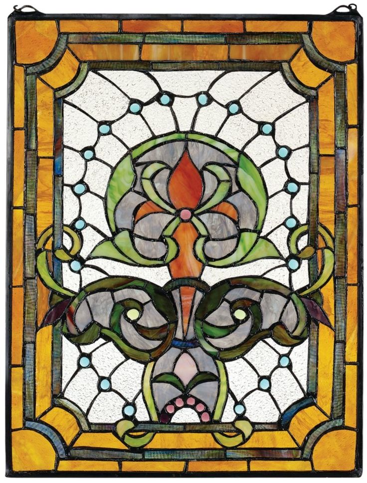 Design Toscano Kendall Manor Stained Glass Window * Find Out @ Part 89