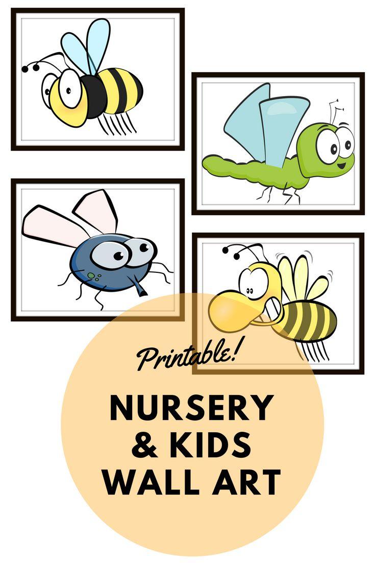 20 best Kids & Nursery wall art images on Pinterest