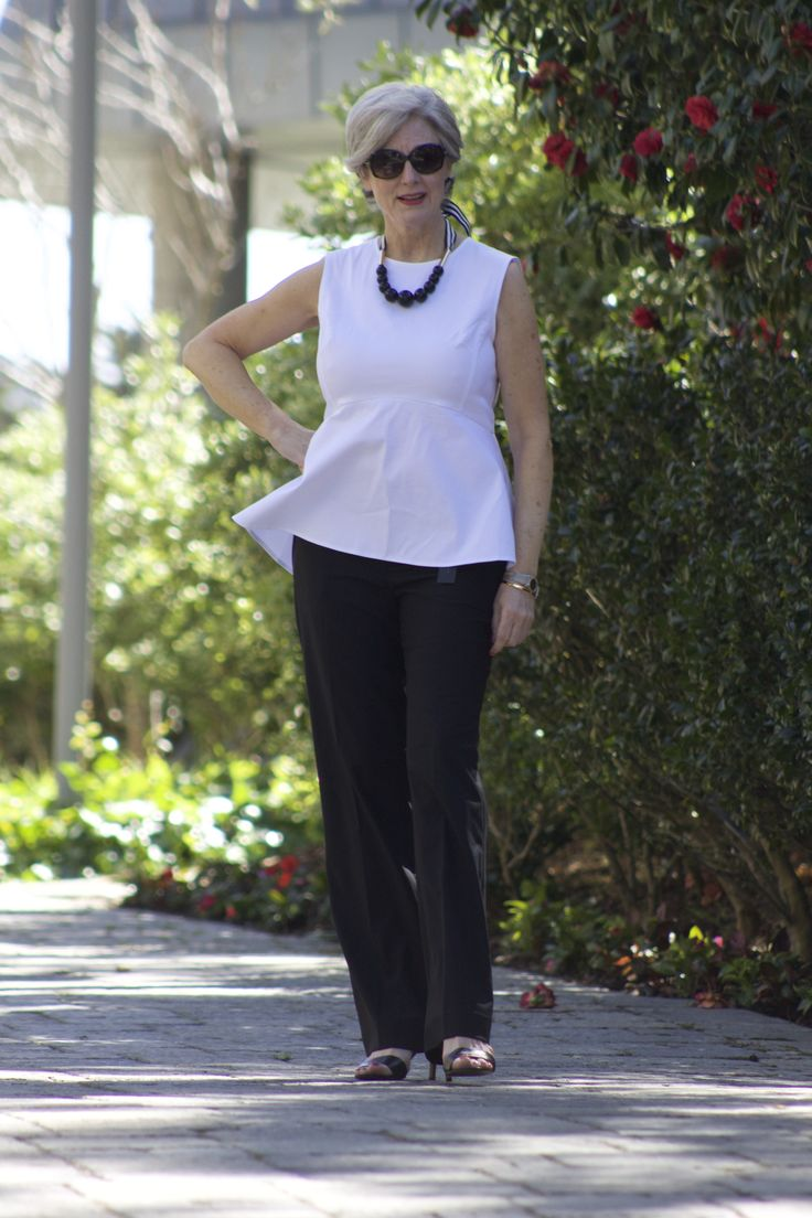 black and white | style at a certain age